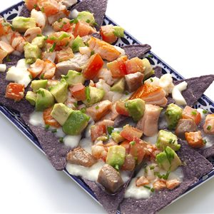 Purple Nachos Cotto